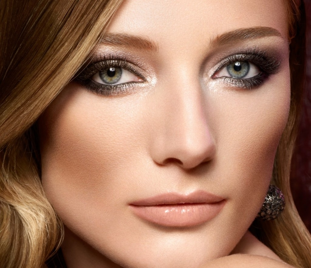 makeup for hazel eyes and dark brown hair - cat eye makeup