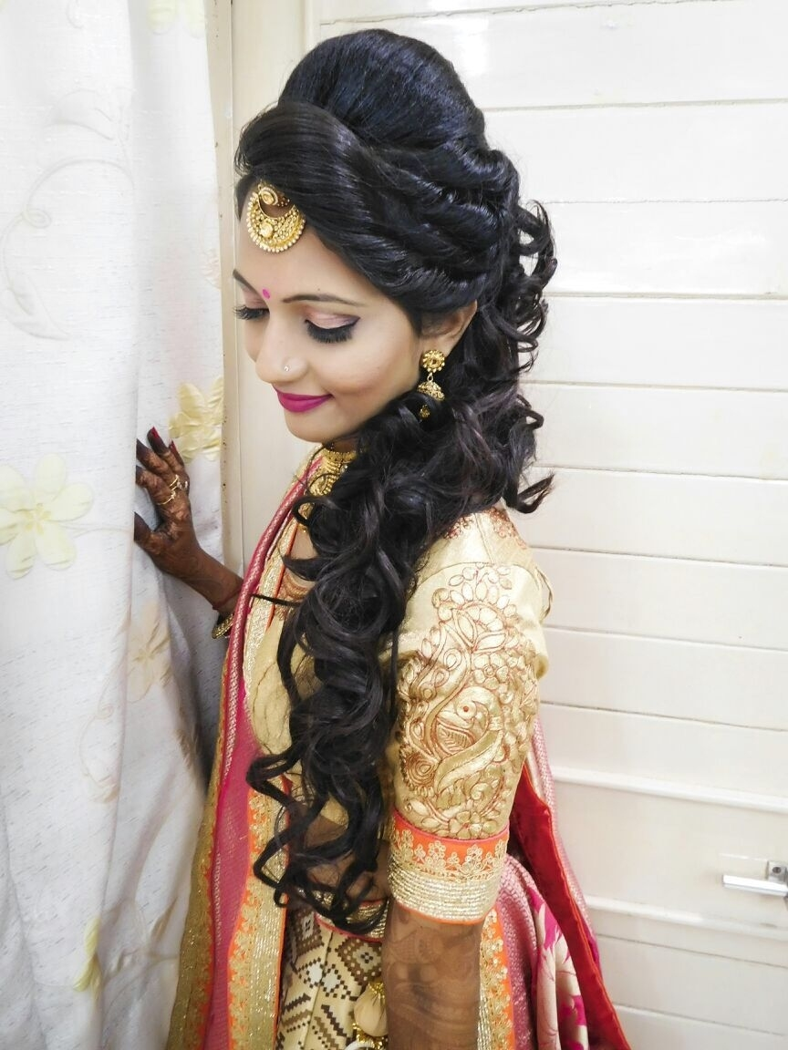 Hair Styles | Cotton Panels In 2019 | Indian Hairstyles, Hair Styles within Indian Bridal Hairstyles For Long Hair