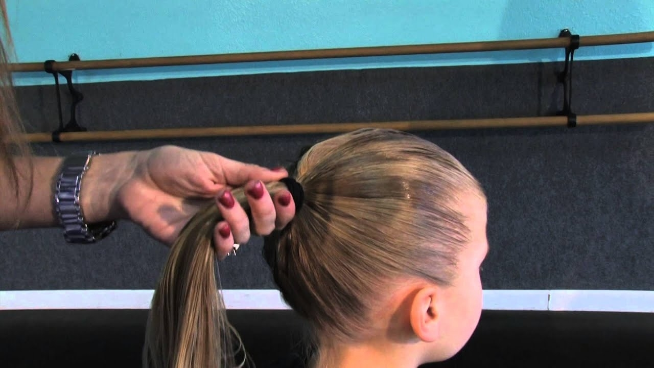 How To Do Recital Hair - Ballet & Jazz Classes - Youtube within How To Dance Recital Hair