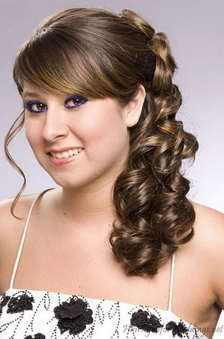 Indian Bridal Hairstyle For Round Chubby Face, Wedding Hairdo For in Indian Bridal Hairstyle For Round Faces