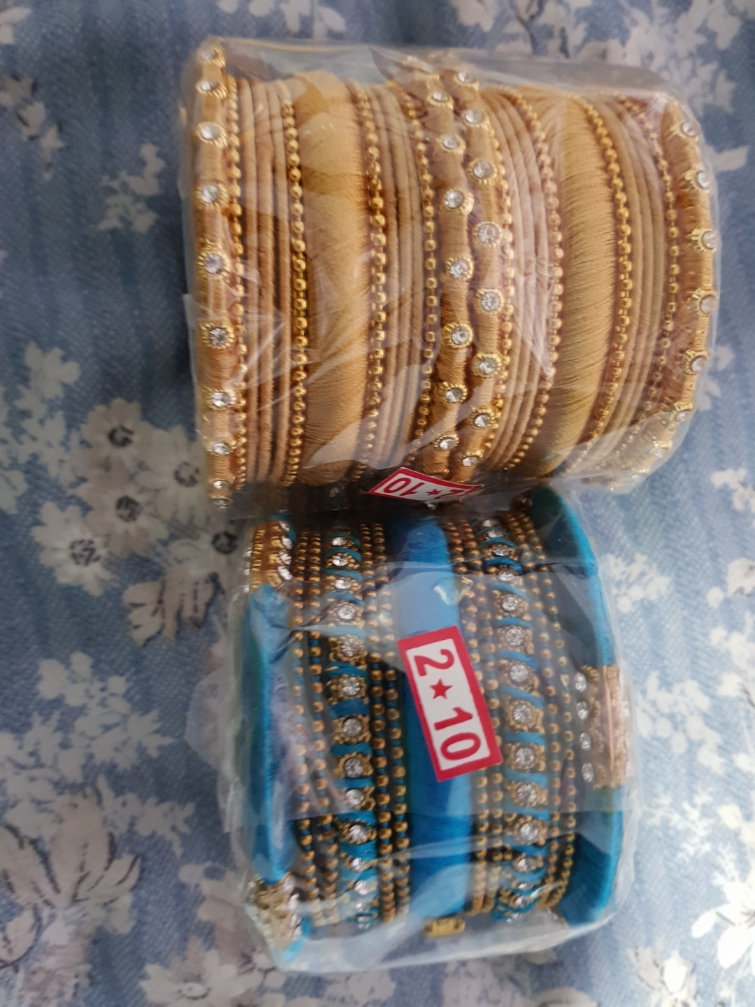 Indian Fancy Thread Bangles, Women's Fashion, Accessories, Hair within Indian Hair Accessories Singapore