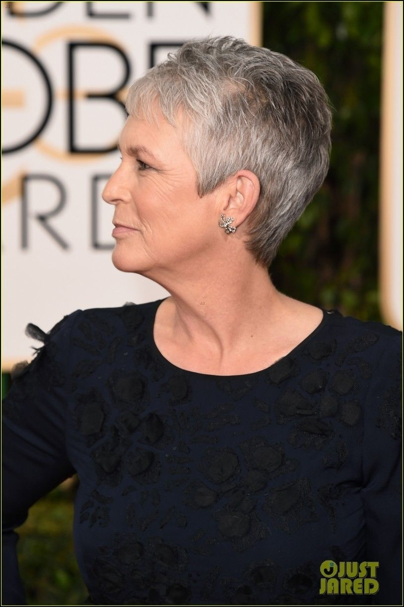 Jamie Lee Curtis Haircut Front And Back View Wavy Haircut