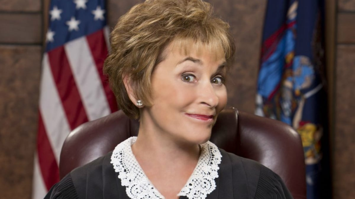 Judge Judy's New Look Features A Ponytail: See The Reactions inside Did Judge Judy Grow Her Hair