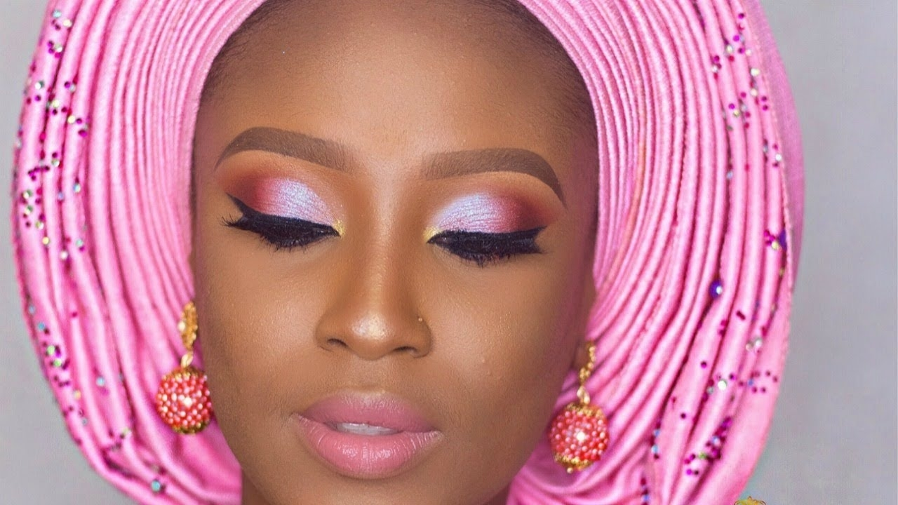 Nigerian Traditional Bridal Makeup Tutorial - Youtube regarding Pictures Of Bridal Makeup In Nigeria