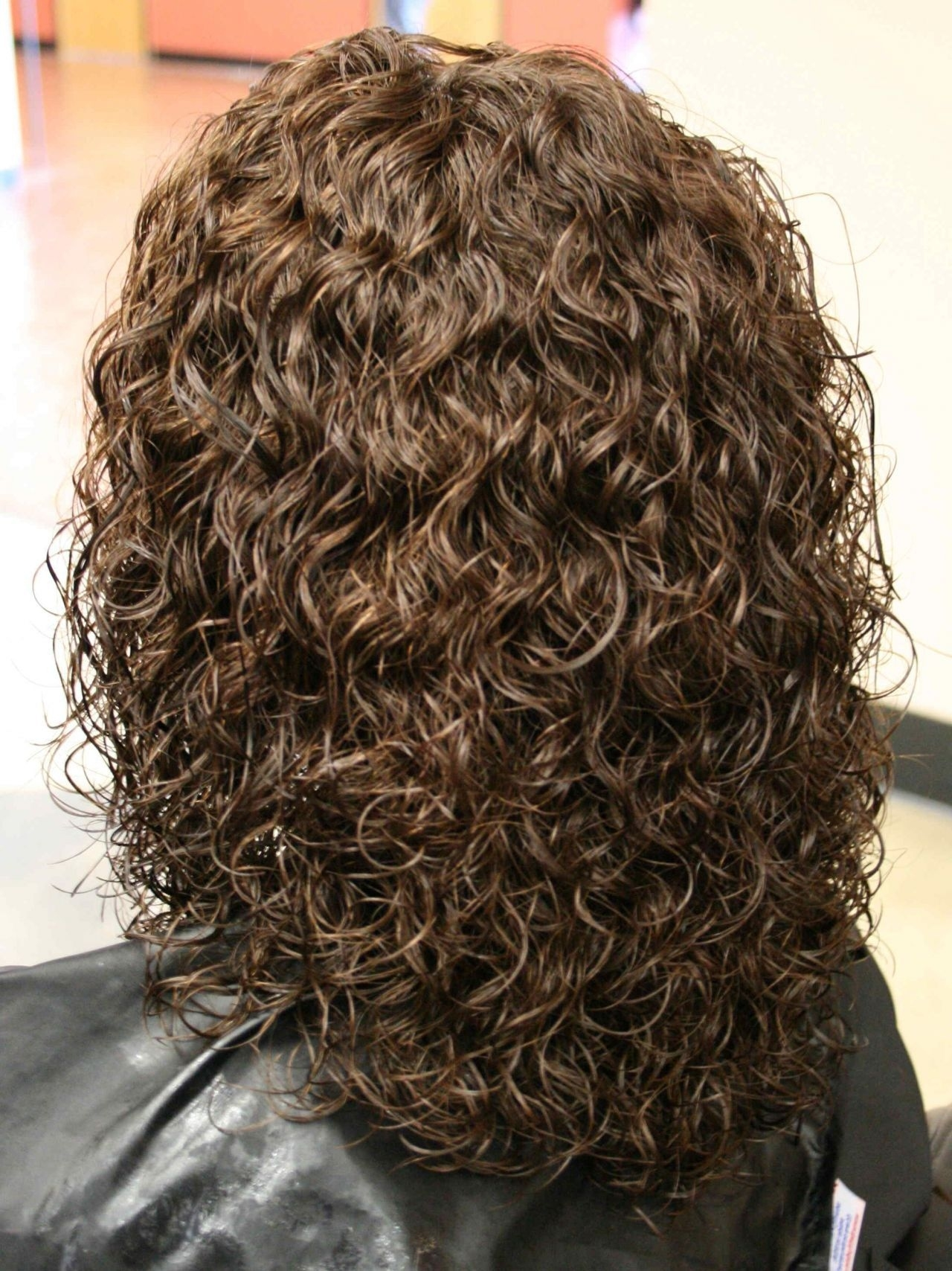 Perms For Medium Length Hair | Spiral Perm Hairstyles On Medium pertaining to Short To Medium Permed Hairstyles