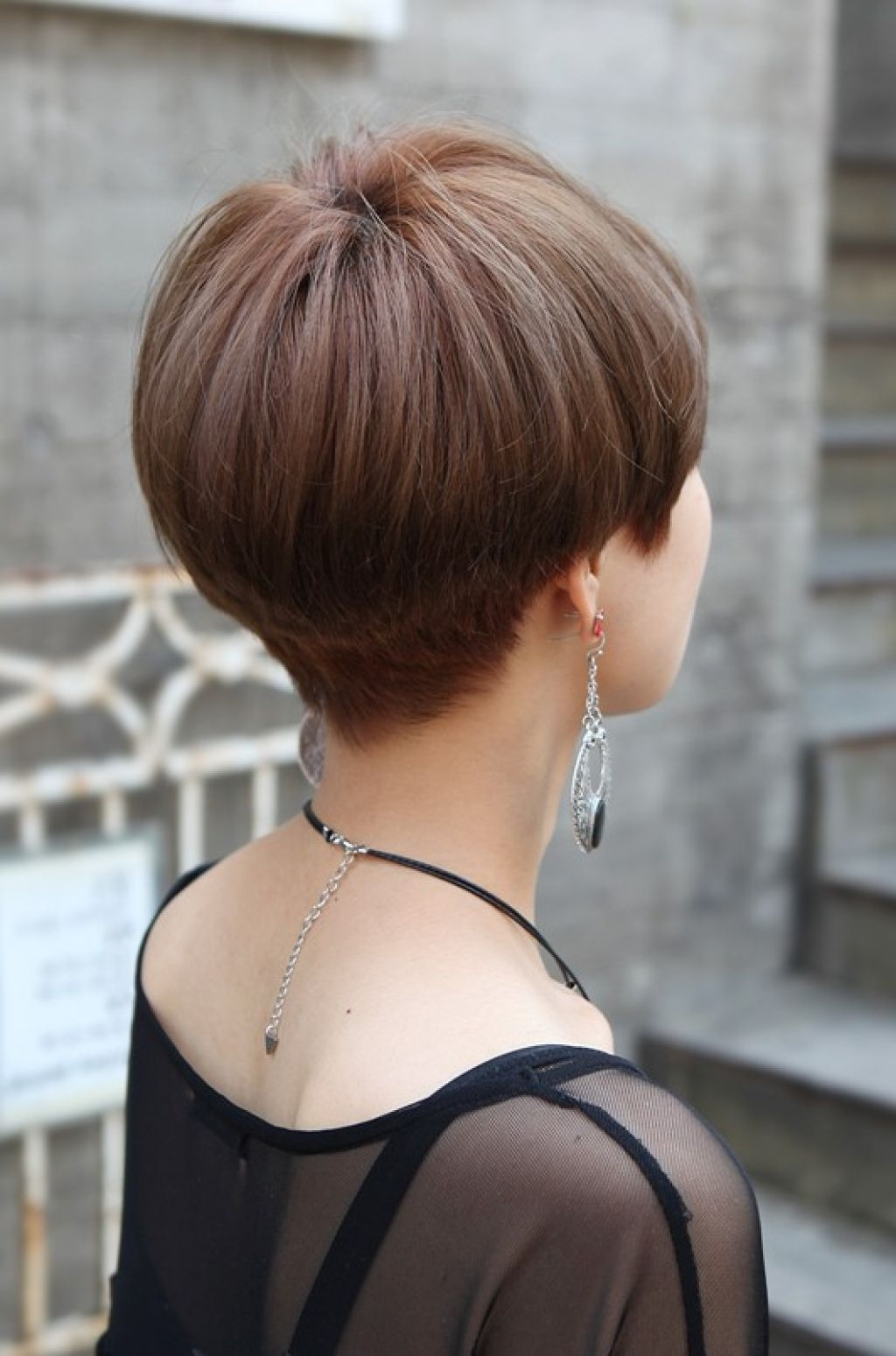 """Related Posts Of """"back View Of Short Wedge Haircut""""   Hairstyles in Wedge Cut Back View"""