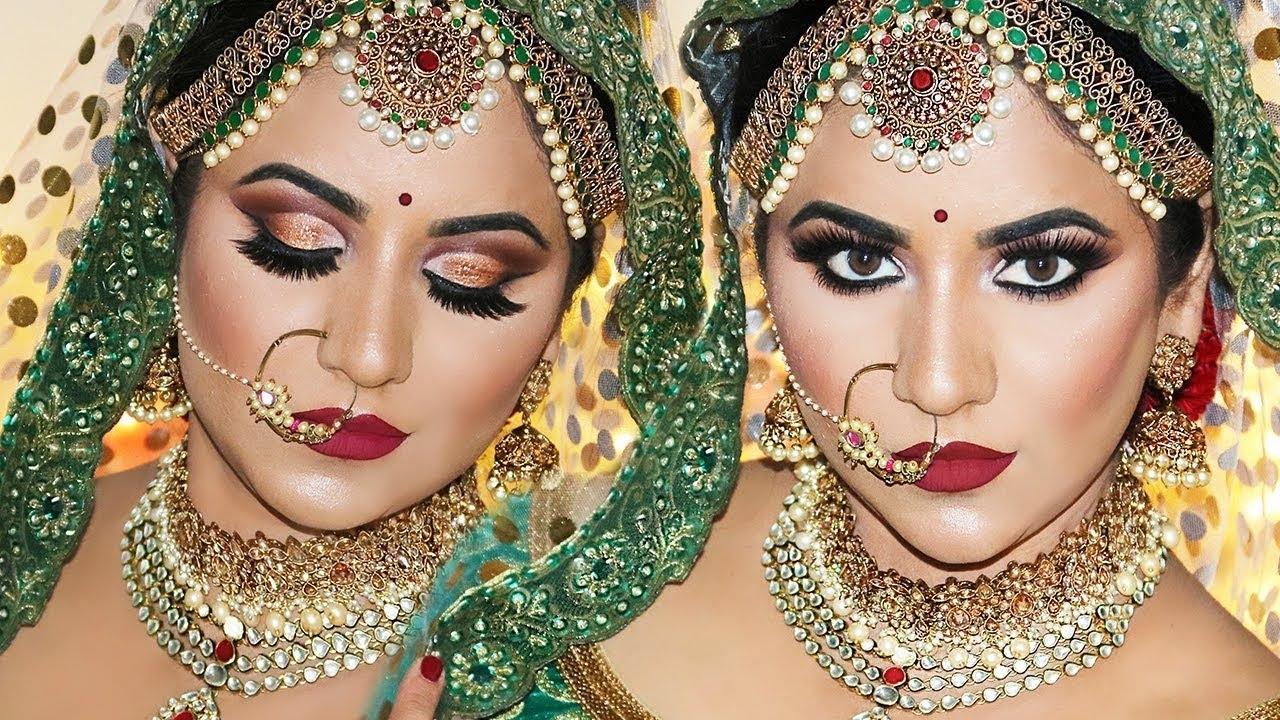 Royal Indian Bridal Makeup By Smithadbeauty - Youtube pertaining to Indian Bride Makeup Photos