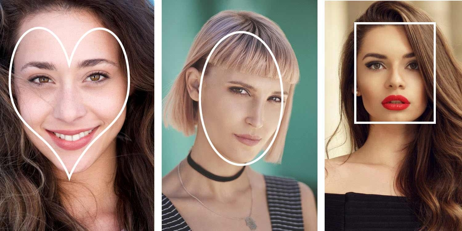 The Best Hairstyle For Your Face Shape – Hair Tips | Matrix intended for Hairstyles To Soften The Face