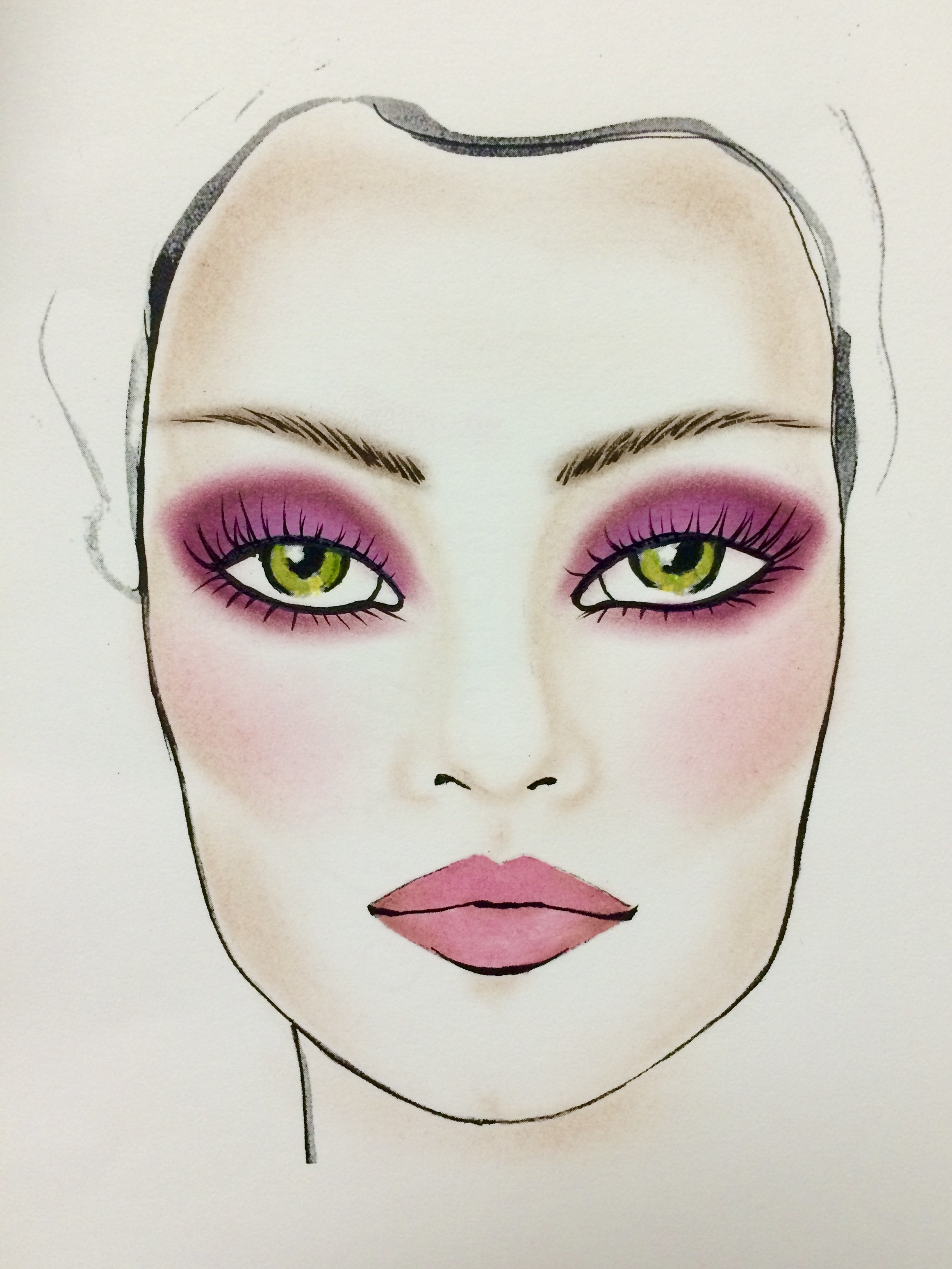The Most Gorgeous Makeup For Green Eyes | Huffpost Life regarding What Color Eyeshadow For Green Eyes And Brown Hair