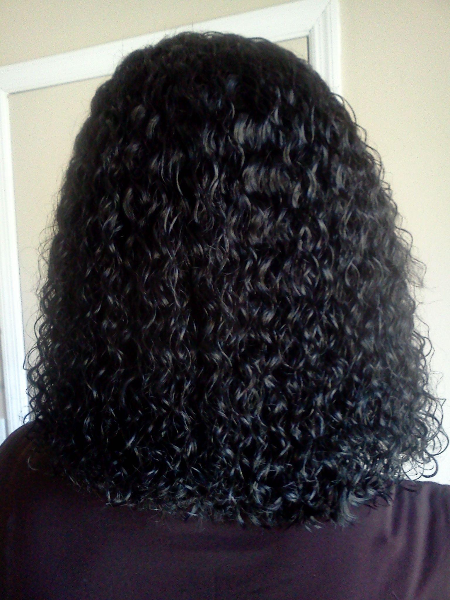Wet N Wavysew-In   Hair In 2019   Hair Styles, Human Braiding in Wet And Wavy Sew In