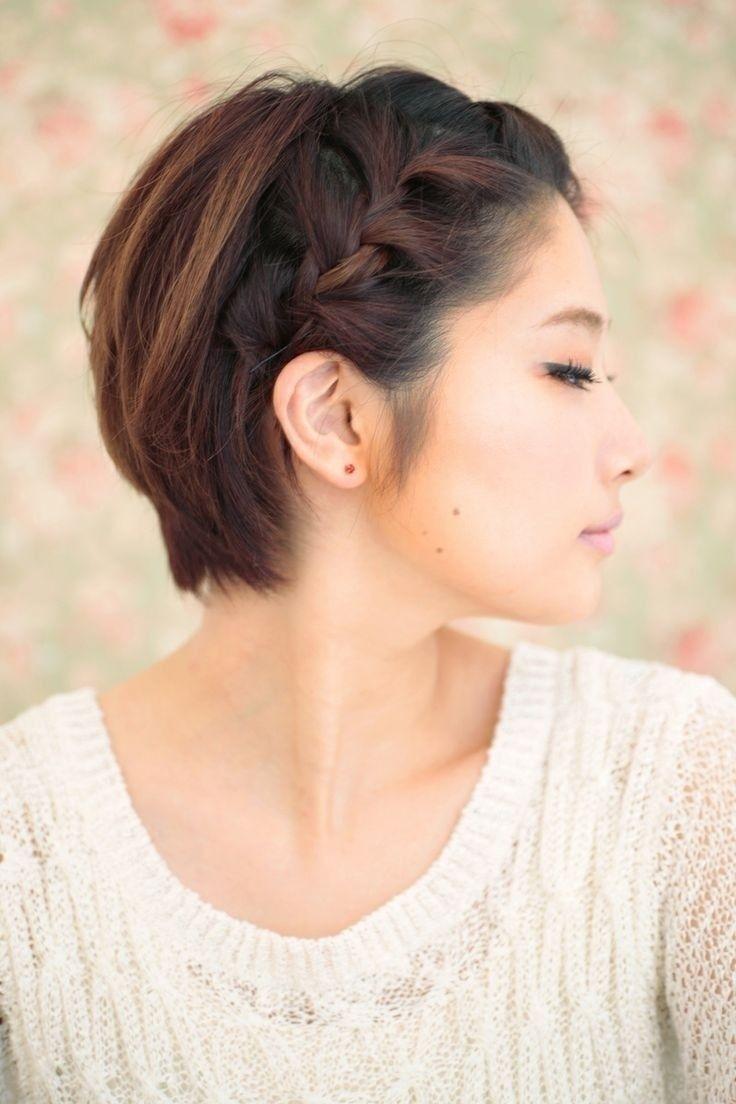 10 Braided Hairstyles For Short Hair   Braids   Short Braids, Braids within Asian Wedding Hairstyles For Short Hair