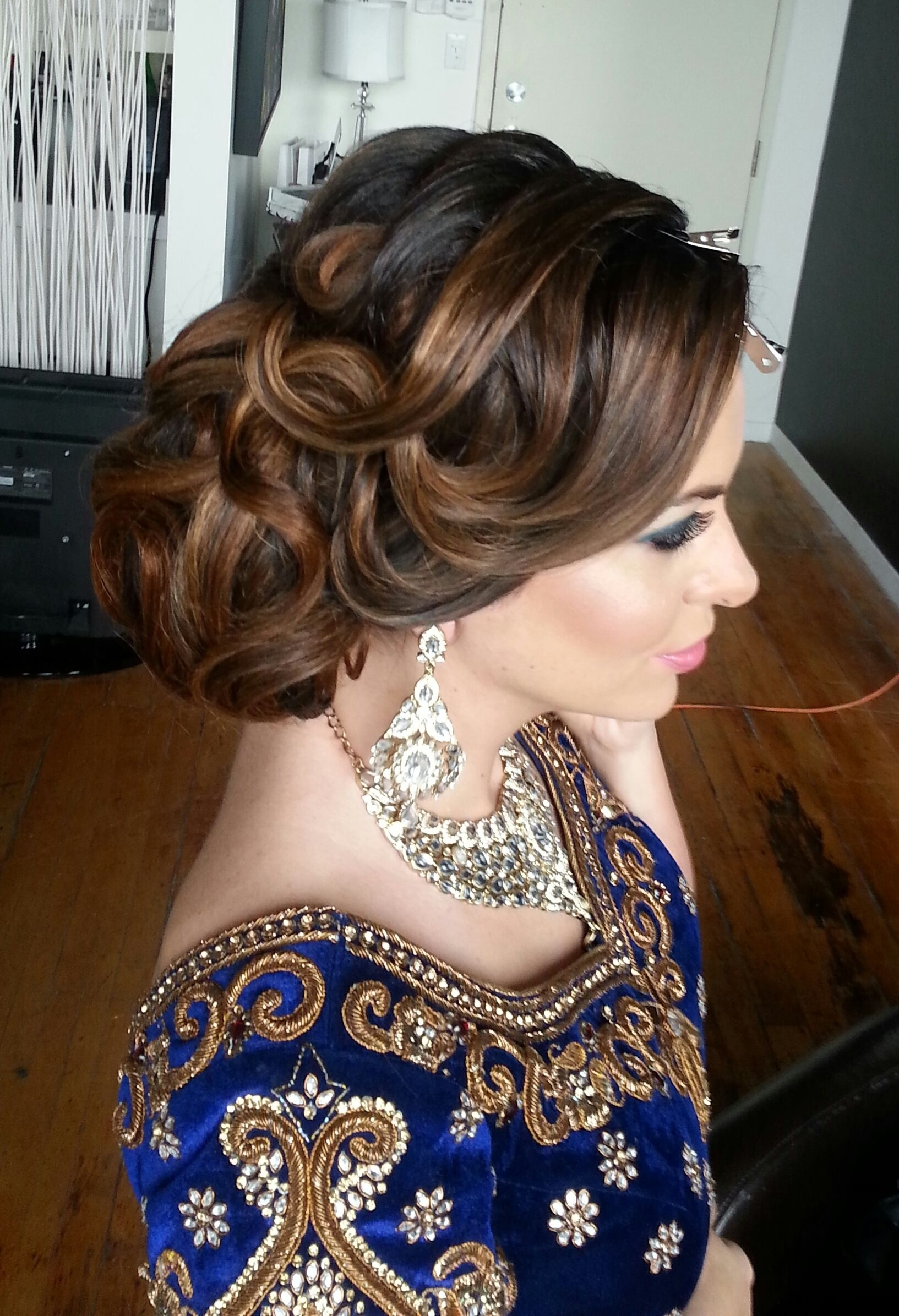 16 Glamorous Indian Wedding Hairstyles   Hairstyles   Wedding Guest with regard to Superb Asian Indian Wedding Hairstyles