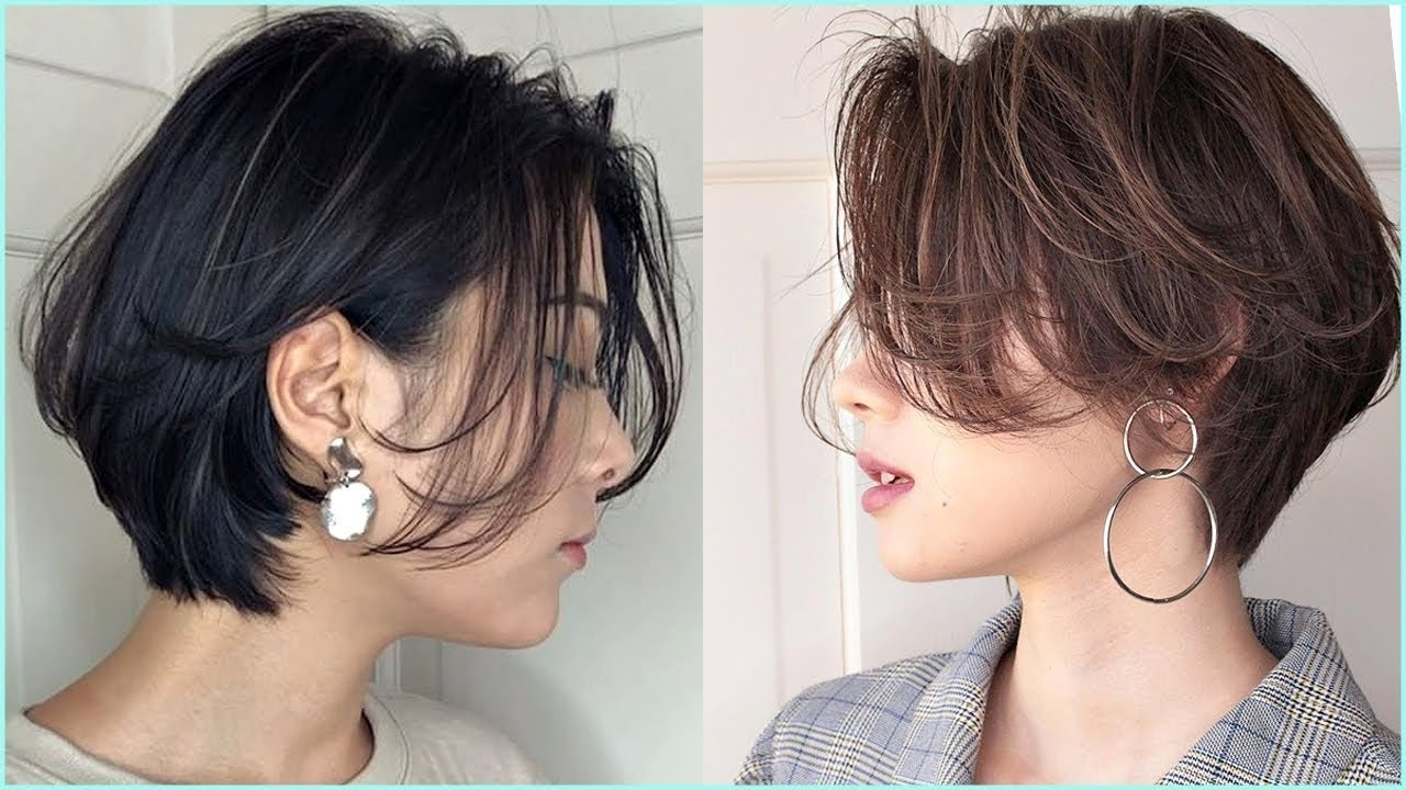 17 Cutes Korean Short Haircuts ?professional Haircut - Youtube intended for Asian Hairstyles Short Hair