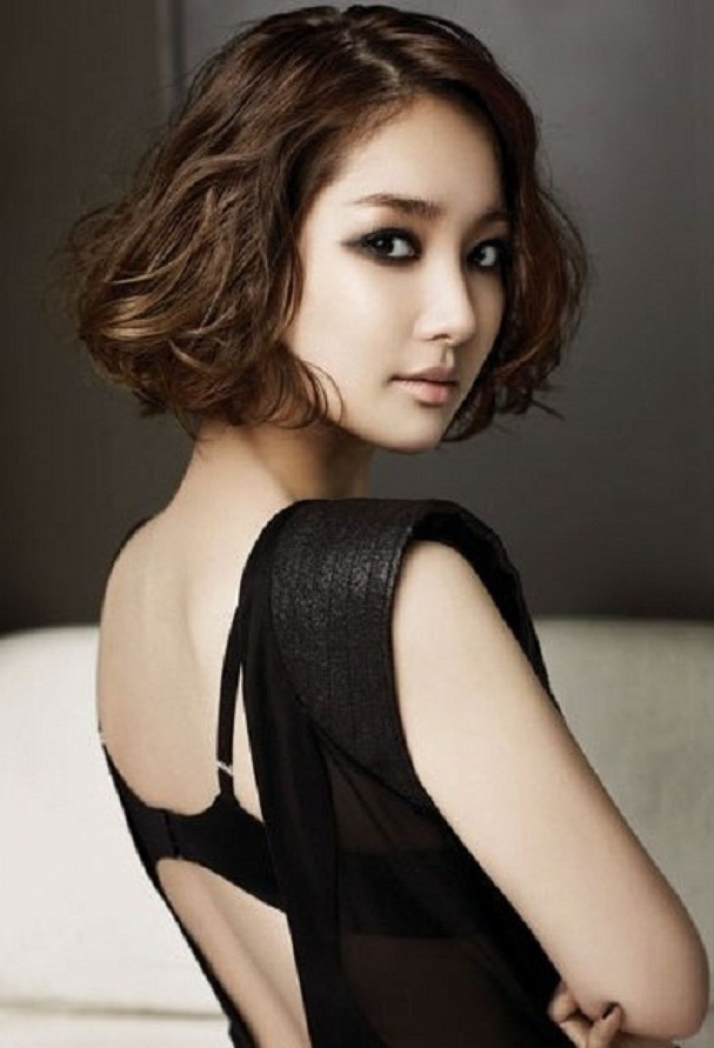 197 Easy To Style Short Haircuts Ideas   Easy To Style   Short Curly with regard to The greatest Korean Curly Hairstyles For Short Hair