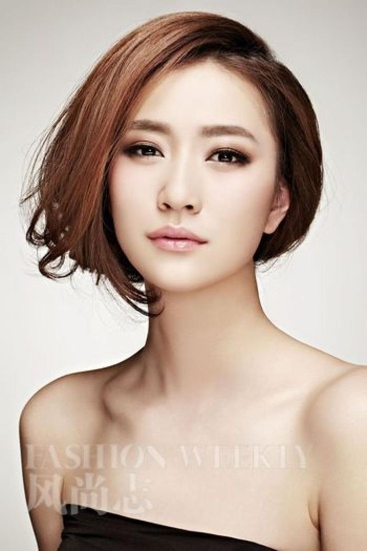 20 Charming Short Asian Hairstyles For 2019 | My Style | Asian Eye regarding Asian Hairstyles With Side Bangs