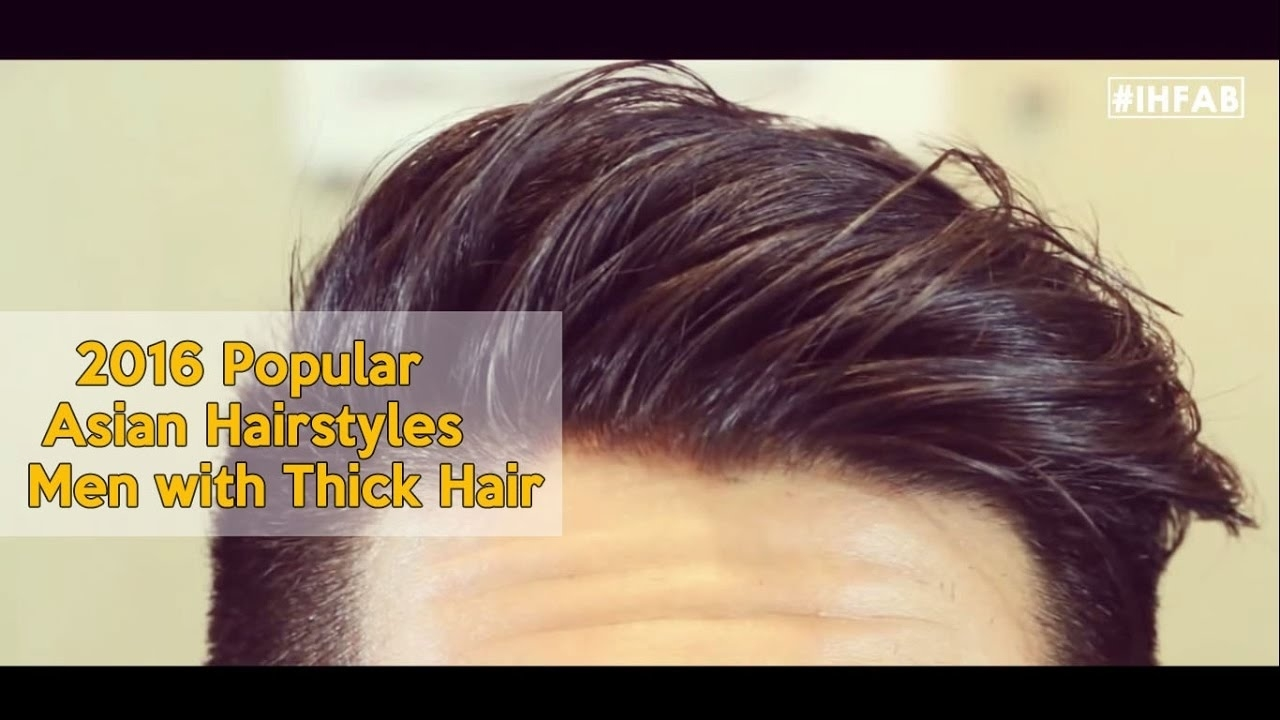 2016 Popular Asian Hairstyles| | Men With Thick Hair | | Carter Flux in Asian Hairstyles For Thick Hair