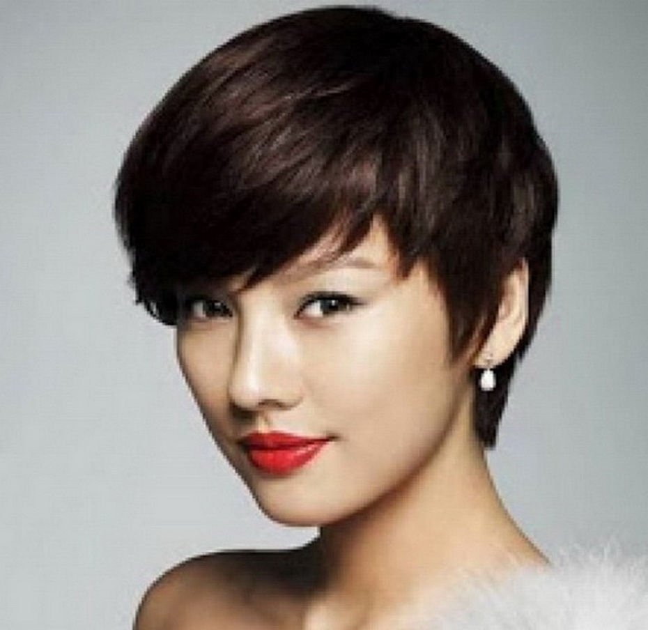 22 Asian Hairstyles :you Love To Try regarding Lady Short Hairstyles Asian Round Face