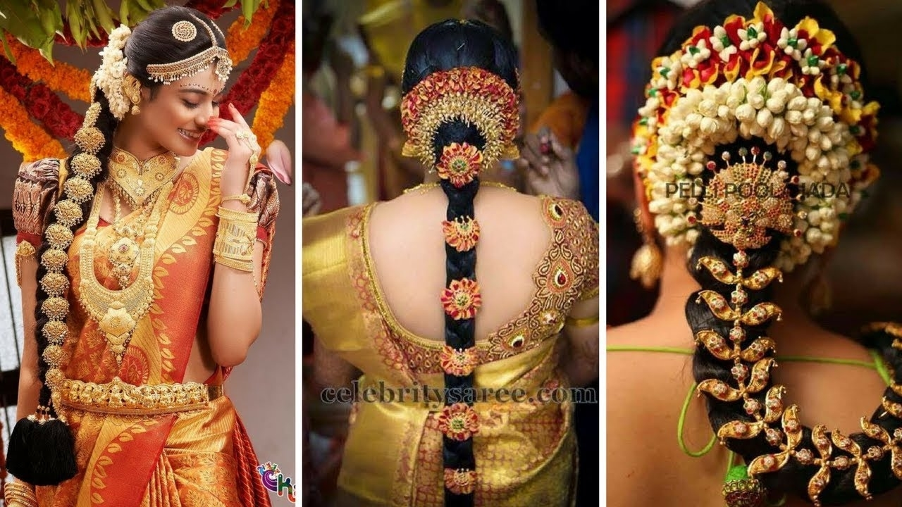 30 Best Indian Bridal Hairstyles Trending This Wedding Season within Best Indian Bridal Hairstyle