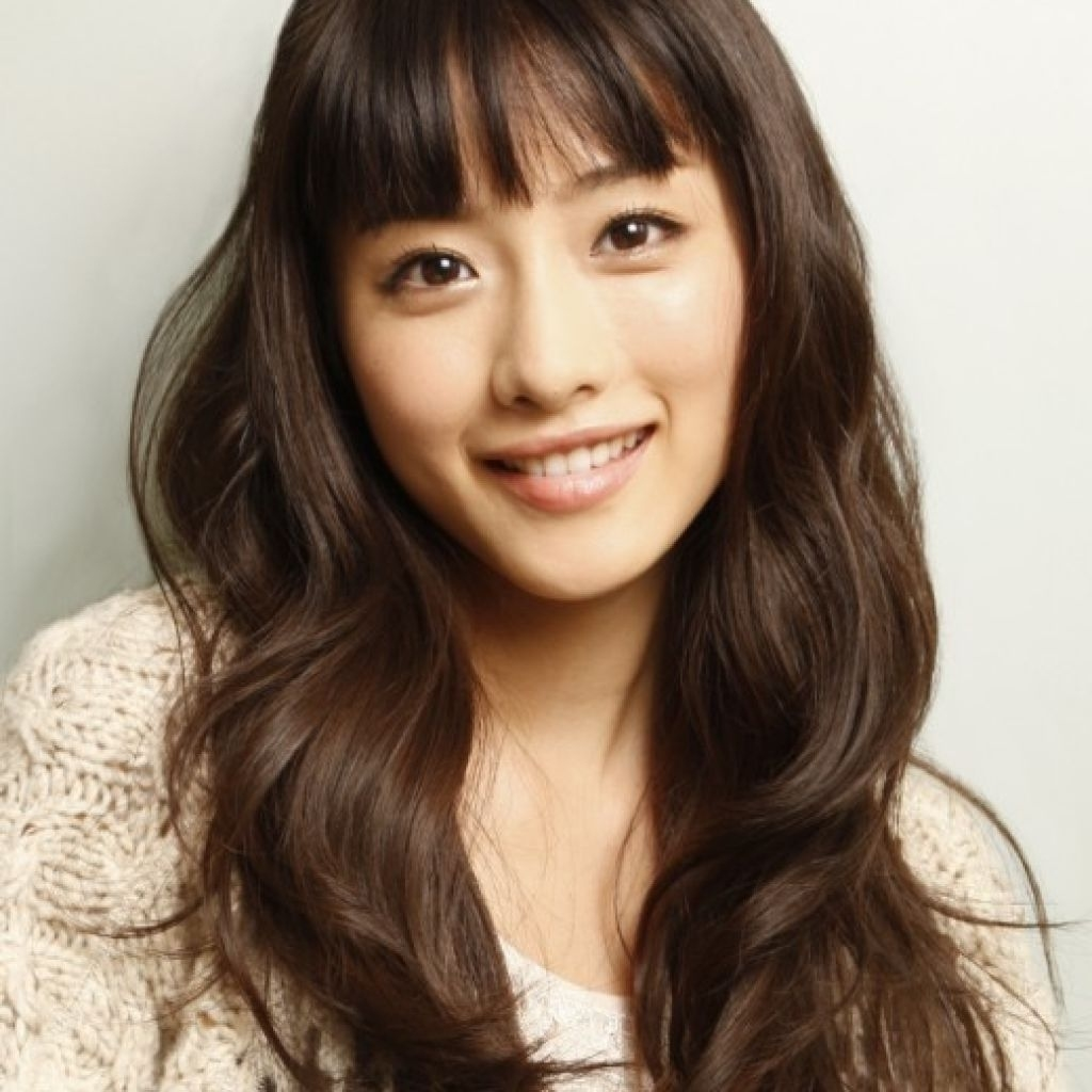 30 Chinese Bangs Hairstyle Pictures   Hairstyles Ideas within Asian Bangs Hairstyle
