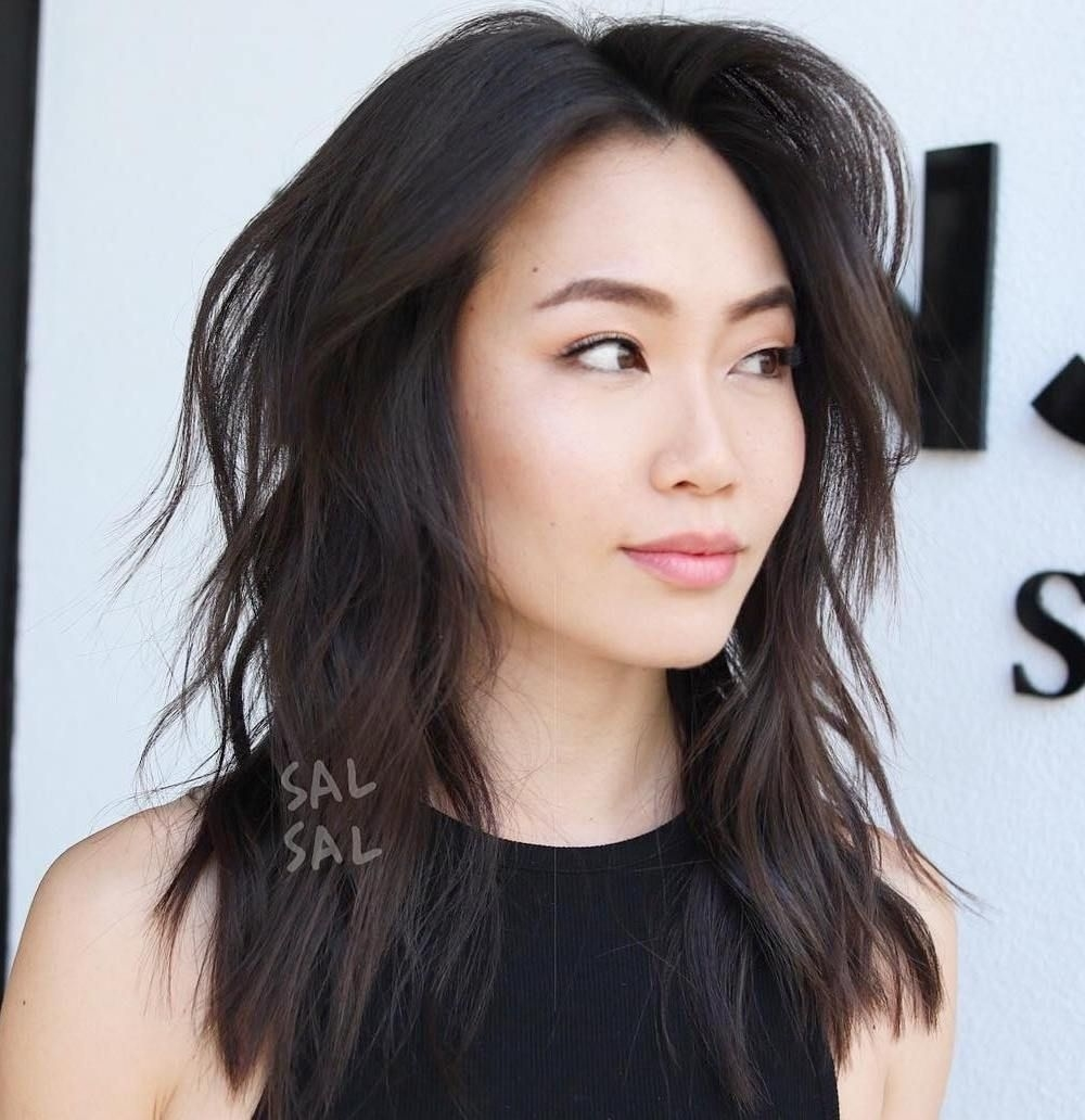 30 Modern Asian Hairstyles For Women And Girls | Hair | Medium Hair in The best Asian Layered Hairstyles With Bangs