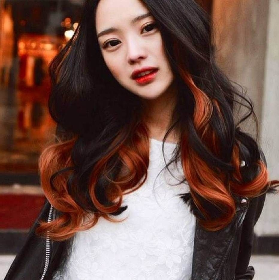 45 Shades Of Burgundy Hair: Dark Burgundy, Maroon, Burgundy With Red for Asian Hair With Red Highlights