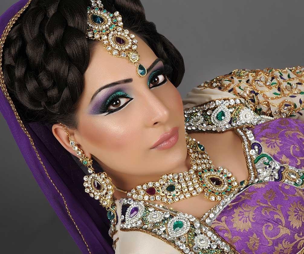 Asian Bridal Hair & Makeup Artist Manchester - House Of Rox-Anna pertaining to Asian Bridal Makeup And Hair Artist