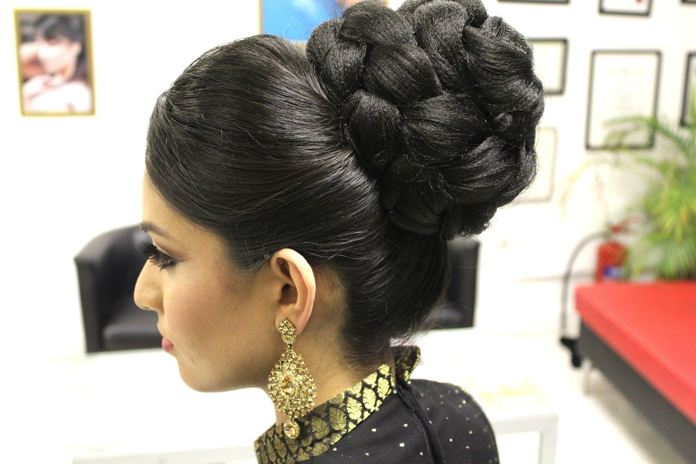 Asian Bridal Hairstyles   Pakistani, Indian Wedding Hair Style throughout Superb Asian Indian Wedding Hairstyles