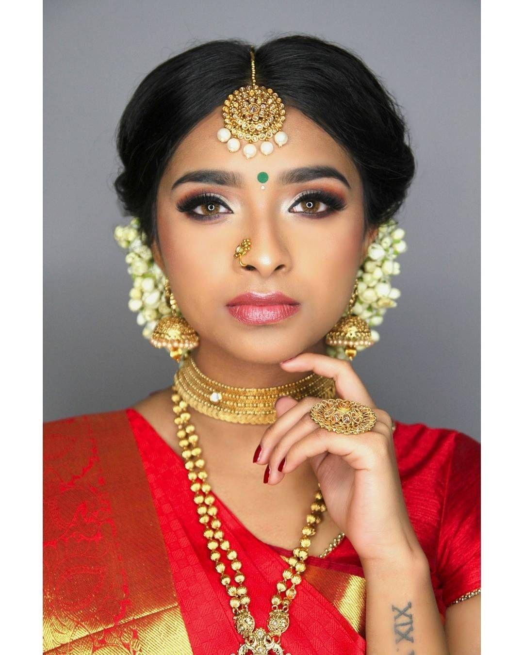 Asian Bridal Look | 2018 - My Beautiful Bride @shalw_04 - Hair, Make regarding Asian Bridal Hairstyles 2018
