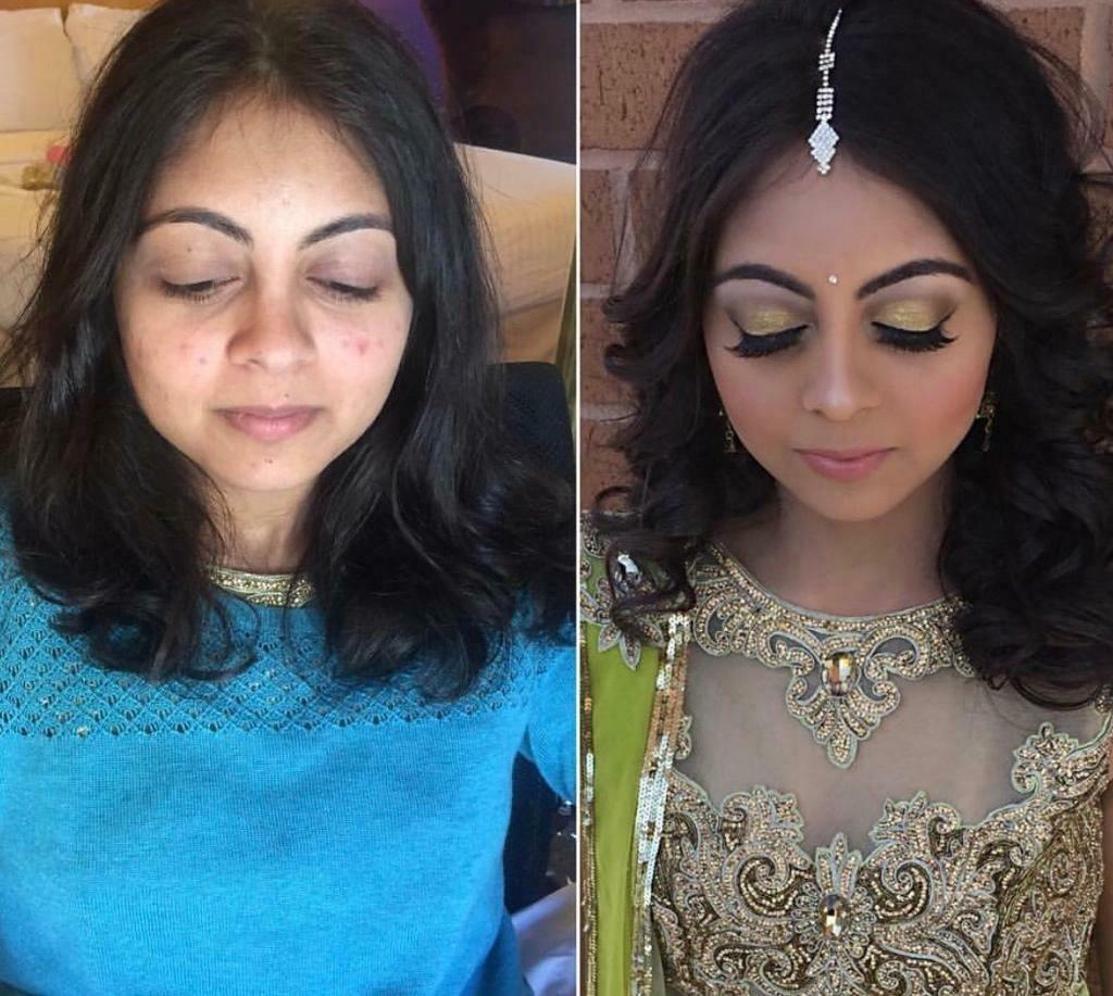 Asian Bridal Makeup Artist Party Makeup Only £20   In Carlton regarding Asian Bridal Makeup And Hair Artist