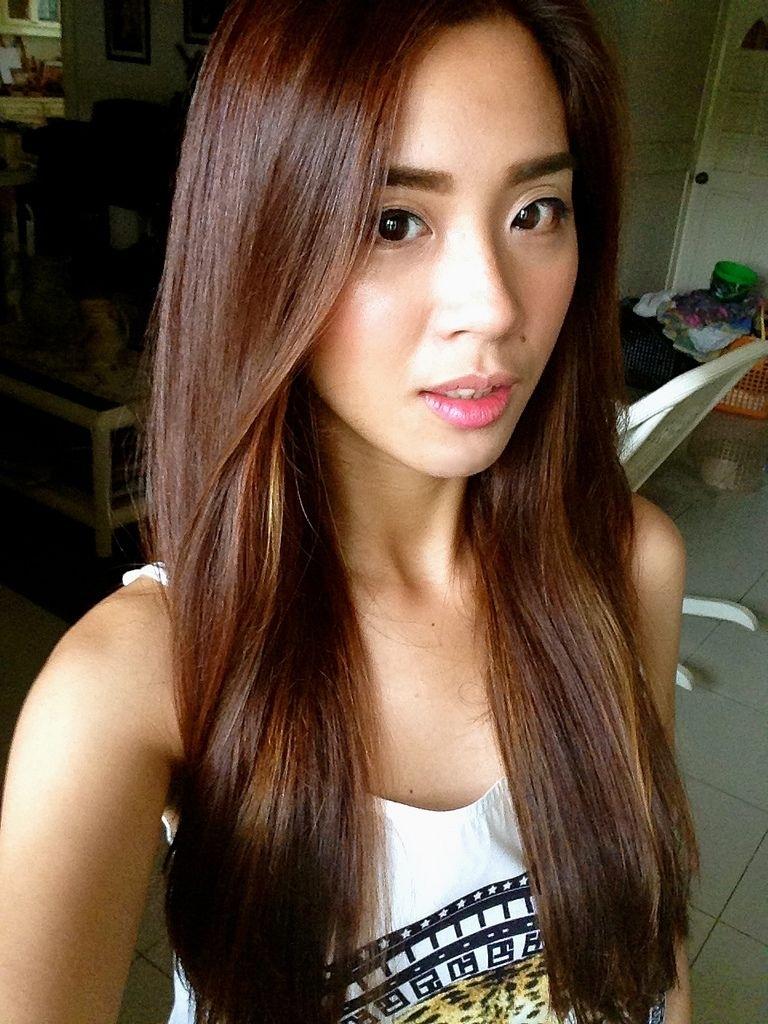 Asian Golden Brown Highlights - Google Search | Hair | Asian Brown for Asian Hair With Red Highlights