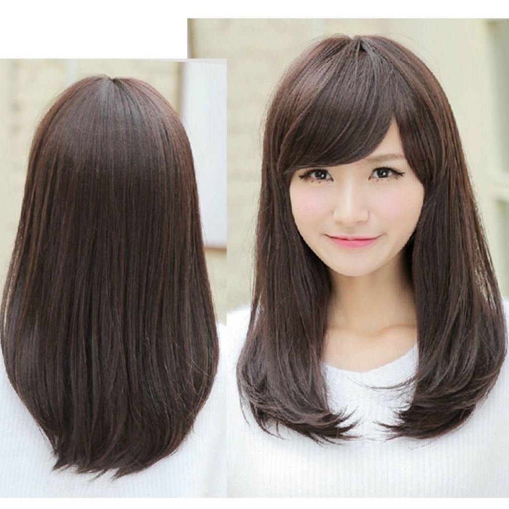 Asian Hairstyles With Side Bangs Hairstyle Hits Pictures | Mid regarding Asian Hairstyles With Side Bangs