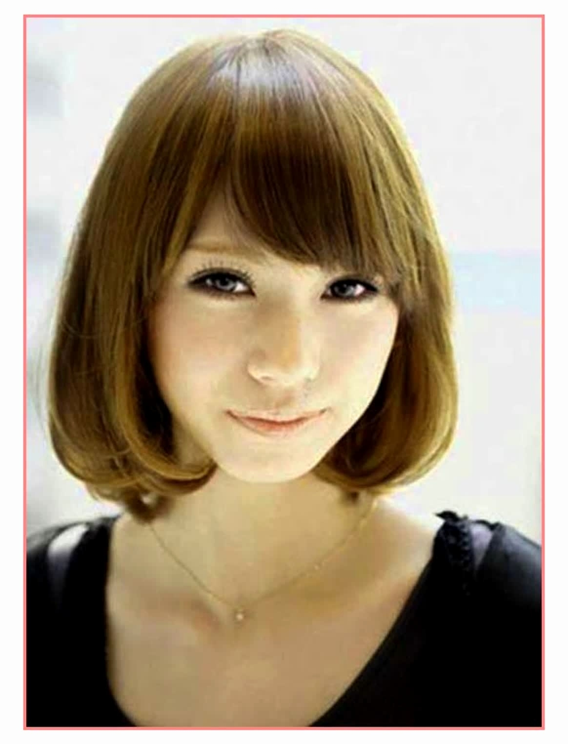 Asian Short Hairstyles For Round Faces Short Hairstyles For Round regarding Top-drawer Asian Haircut For Round Face Short Hair