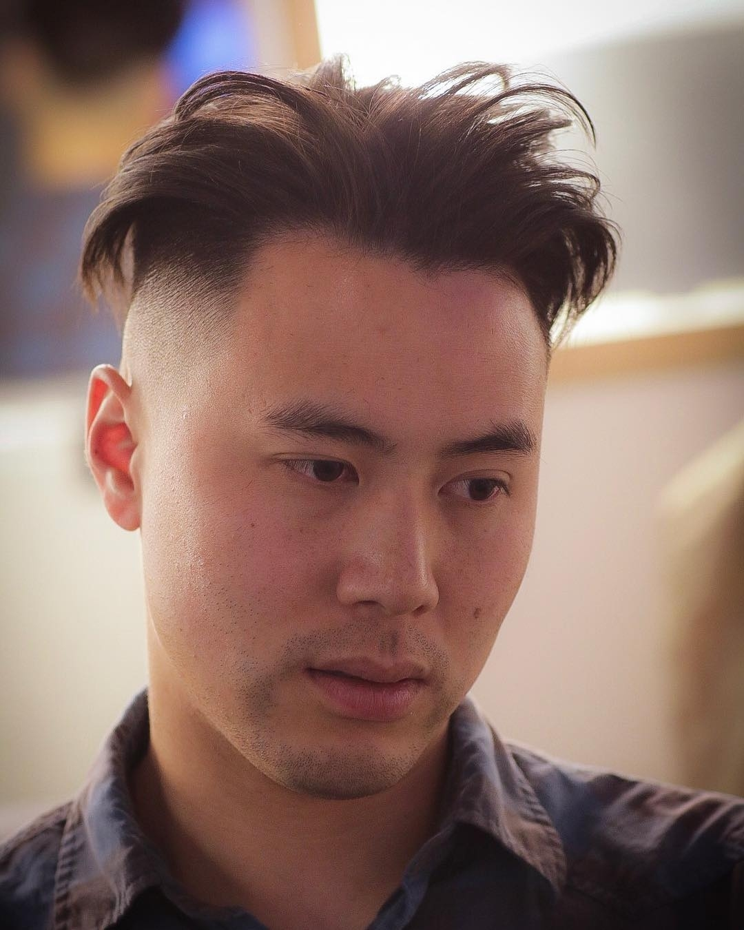 Best Hairstyles For Asian Men within Amazing Best Hairstyles For Asian Male Round Face