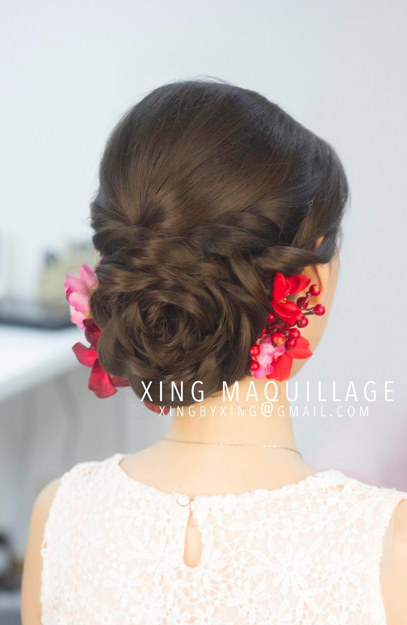 Braids, Up-Do, Bun, Asian, Wedding, Hair, Chinese | Hair In 2019 with Asian Hairstyles For Prom