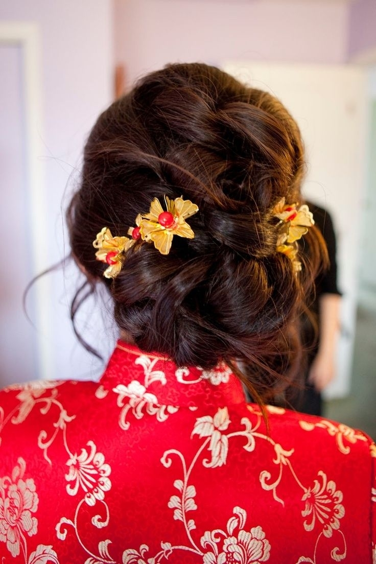 Chinese Wedding Hair - Google Search   Flowers For Wedding   Asian with regard to Asian Bridal Hairstyles For Long Hair