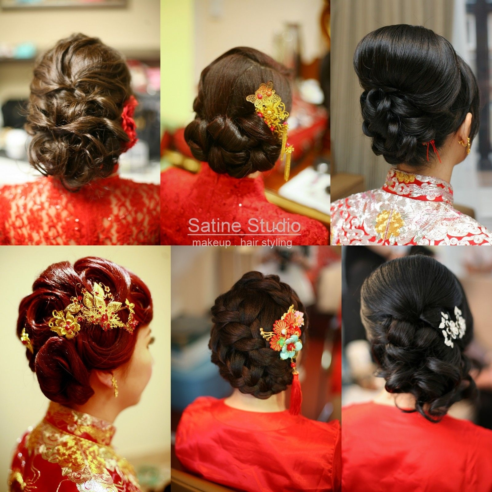 Chinese Wedding Hairstyles Satinestudio Bridal Updo, Toronto intended for Asian Bridal Hairstyles For Long Hair