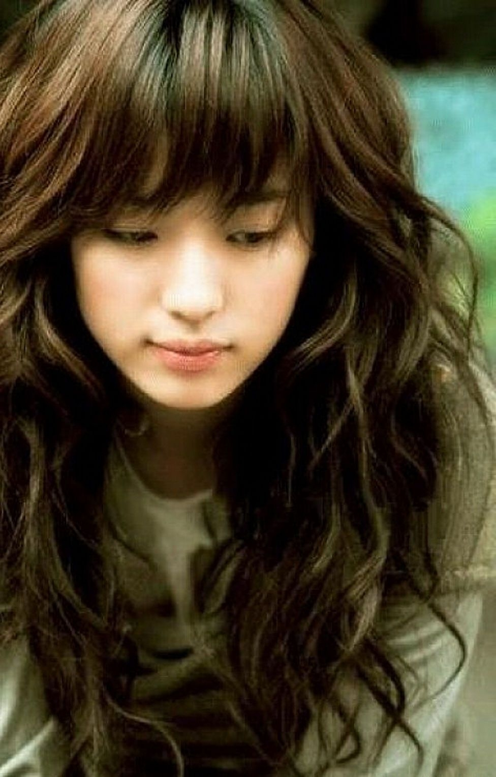 Cute Asian Long Haircut Haircut Hairstyles With Bangs For Wavy Hair with regard to The most ideal Cute Asian Hairstyles With Bangs