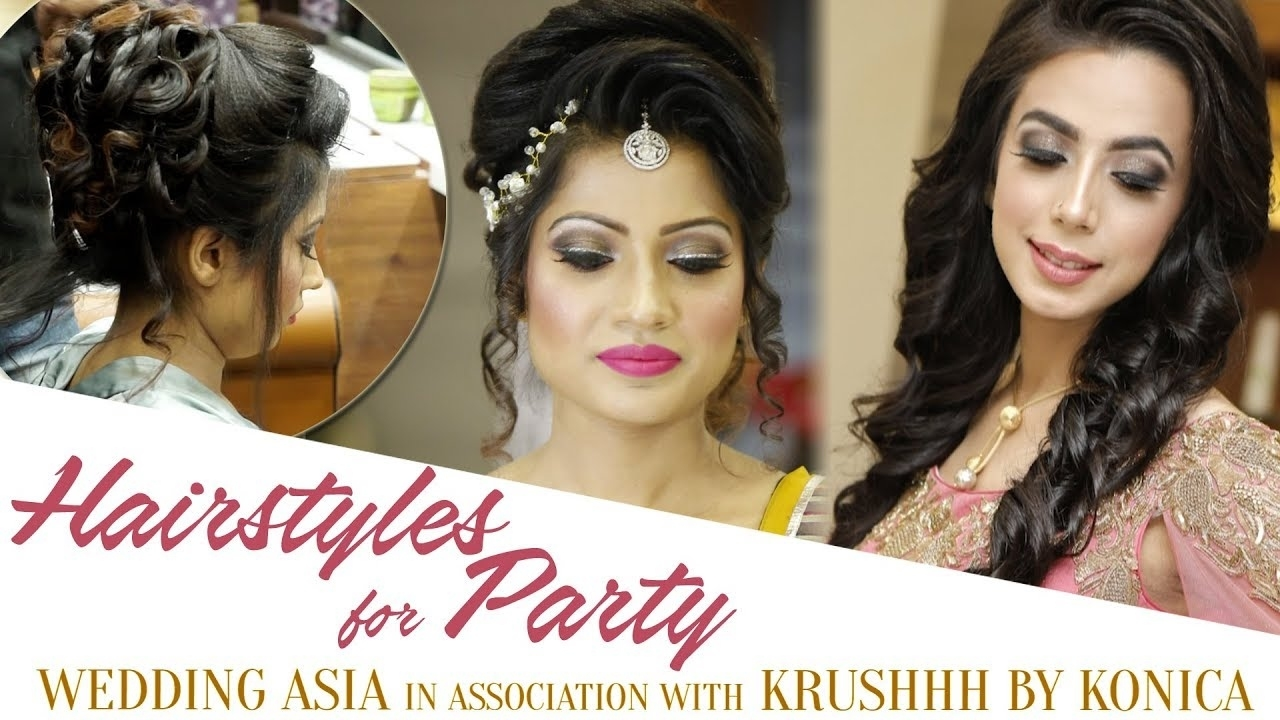 Easy Hairstyles For Party | Party Hair Style Tutorial Video | Best with Asian Hairstyles For Wedding Party