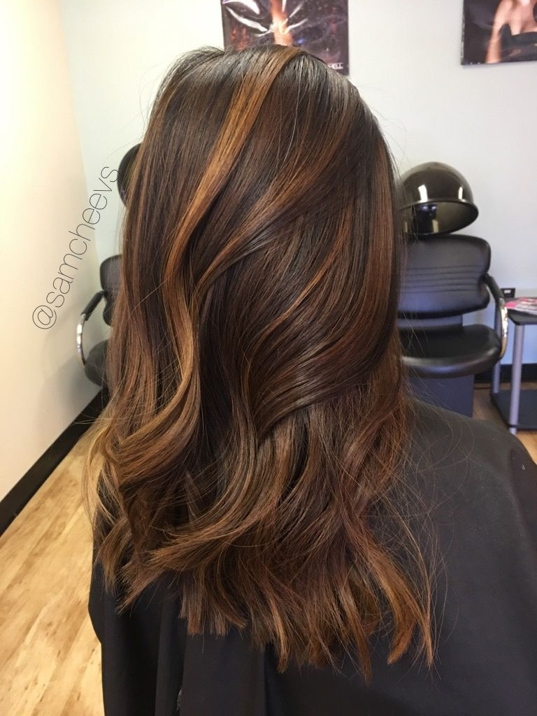 Golden Honey Caramel Highlights For Brown Hair. Highlights For Dark with regard to The most ideal Asian Hair With Caramel Highlights