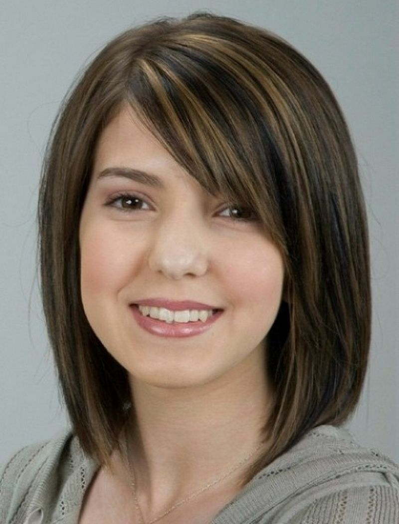 Hair Cuts : Haircut For Round Asian Woman Female Images Haircuts with Superb Asian Bangs Hairstyle For Round Face