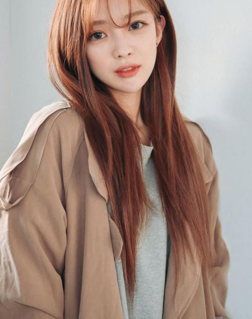 Hairstyle Korean Korean-Hair-Color-1 Korean Hair Color | Camera In with Superb Asian Girl Long Hairstyles