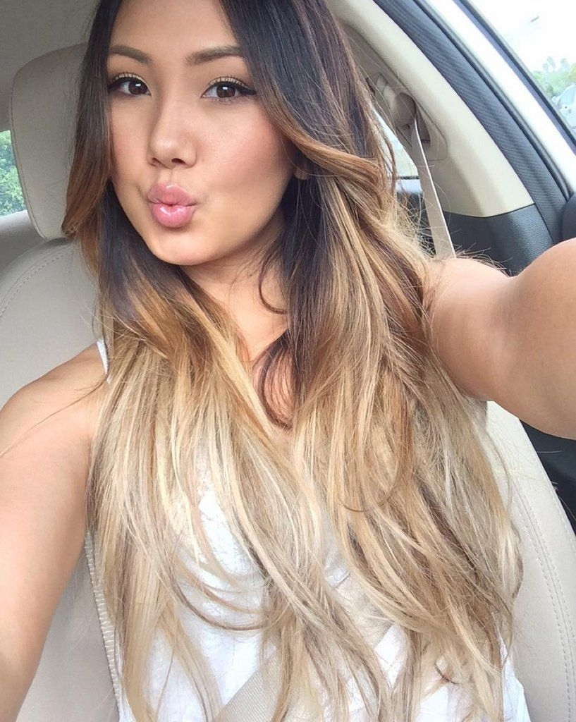 Here's Why All Your Asian Girlfriends Are Going Blond | Beauty in Asian Hair With Blonde Highlights