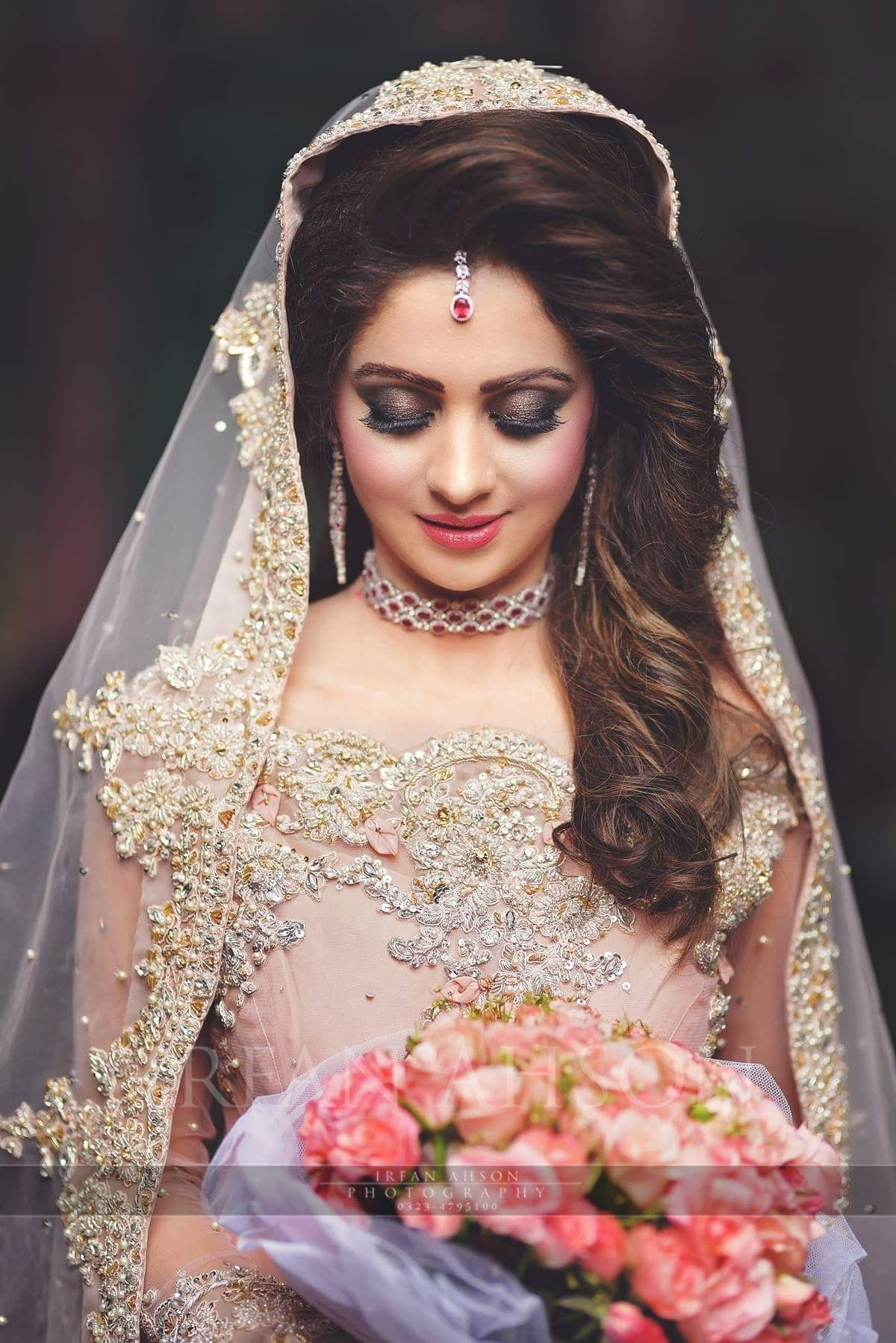 Highlights On Hair. | Laila In 2019 | Pakistani Bridal Dresses with regard to The most ideal Asian Bridal Hairstyles 2018