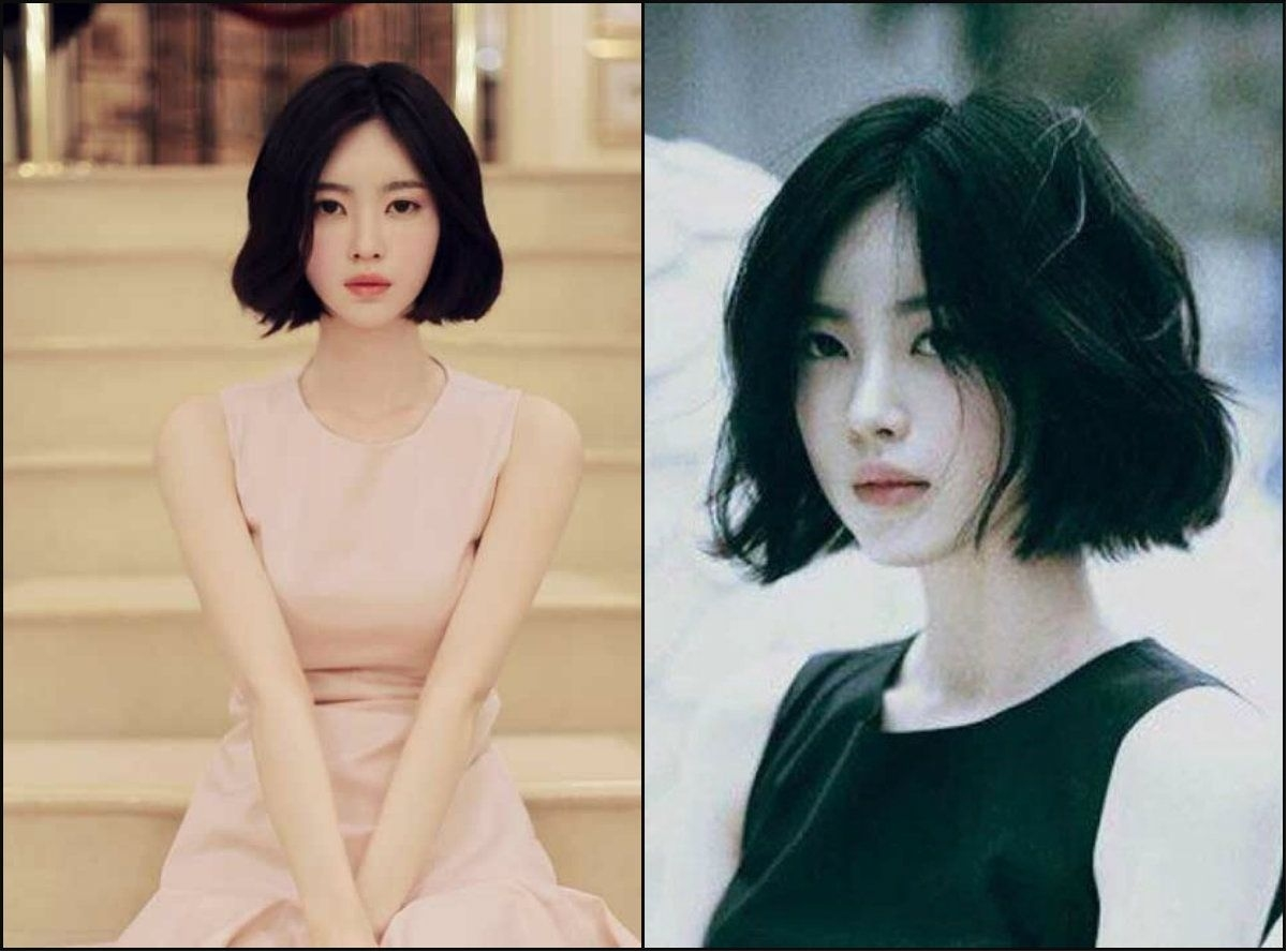 Jet Black Bob Hairstyles For Asian Women | Hair Inspiration | Bob in The best Bob Hairstyles Asian Hair