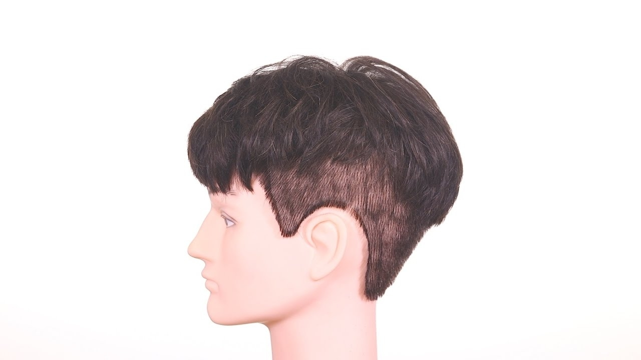 K-Pop Two Block Haircut - Thesalonguy - Youtube within Asian Hairstyles For Teenage Guys