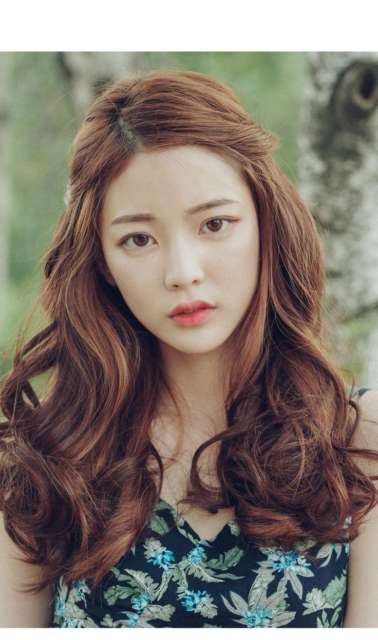 Korean Haircut For Thick Hair – Wavy Haircut inside Superb Asian Hairstyles For Thick Hair
