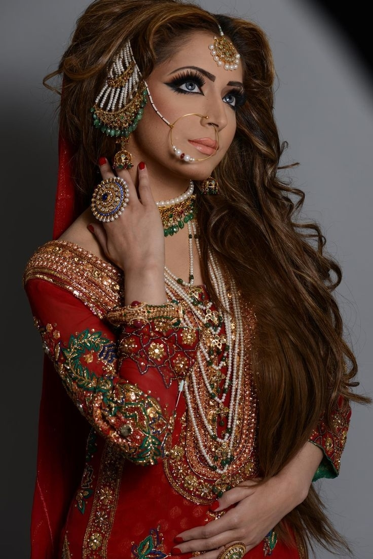 Latest Pakistani Bridal Wedding Hairstyles Trends 2018-2019 | Basic pertaining to Asian Bridal Hairstyles 2018