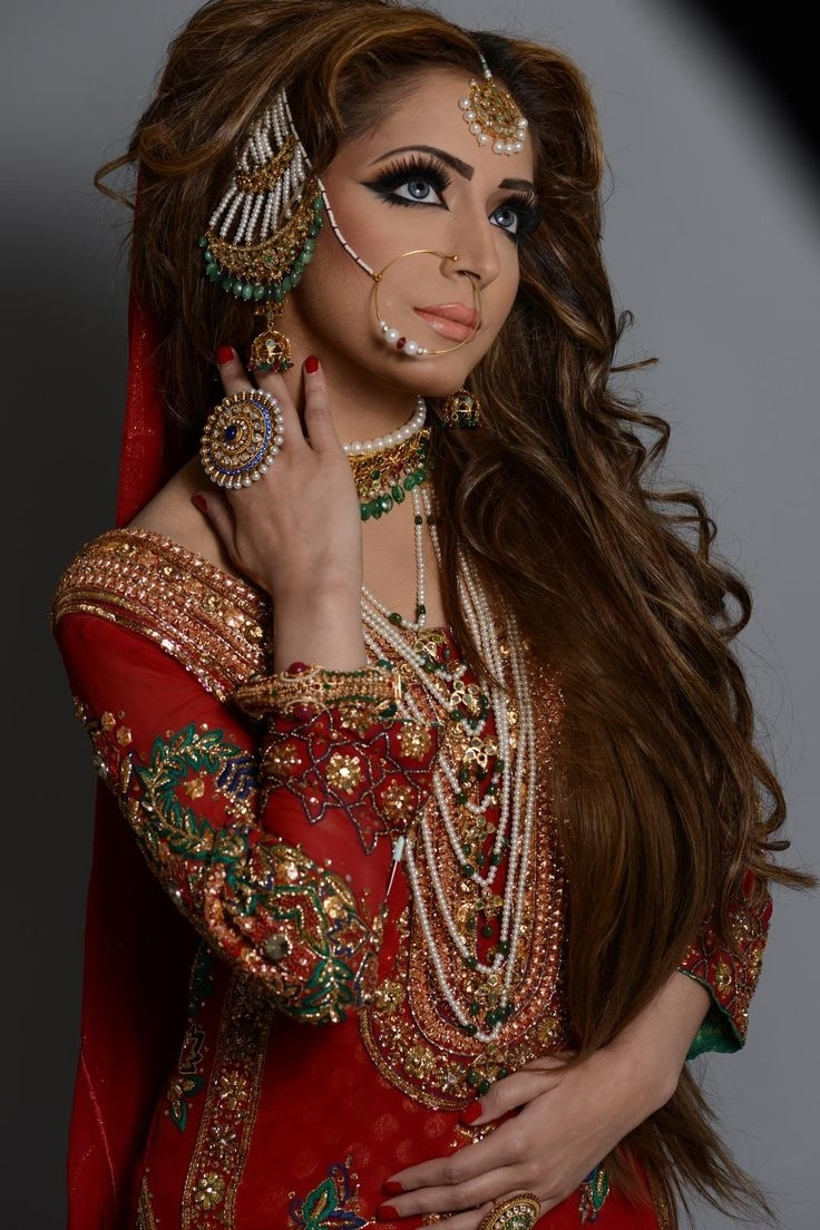 Latest Pakistani Bridal Wedding Hairstyles Trends 2018-2019 Collection with regard to Superb Asian Bridal Hairstyles For Long Hair