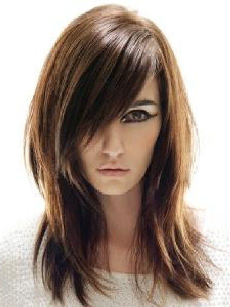 Long Straight Hairstyles Asian Medium Length Layered Hairstyles intended for Asian Layered Hairstyles With Bangs