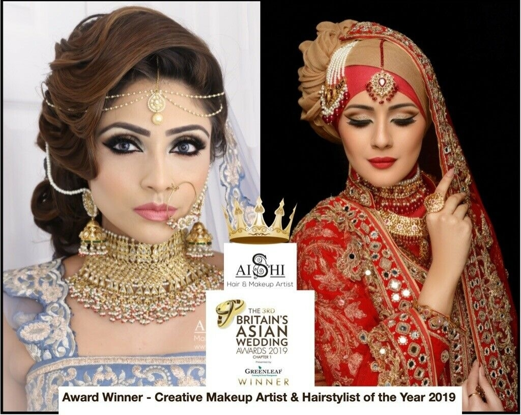 Mac & Alle'nora Asian Bridal Make Up Artist, Hair Stylist London in Amazing Asian Bridal Makeup And Hair Artist